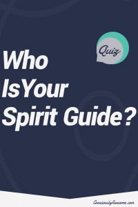 ConsciouslyAwesome.com Quiz: Who is your spirit guide?