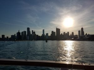 Chicago from the historic boat ride tour