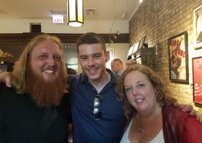 Zac Hansen, Brian J. Smith, & Sheila Applegate