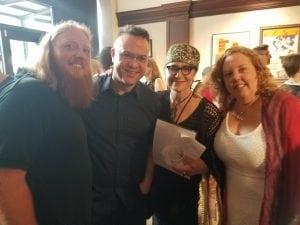 Zac Hansen, Ethan Stoller, Maximilienne Ewalt, & Sheila Applgate