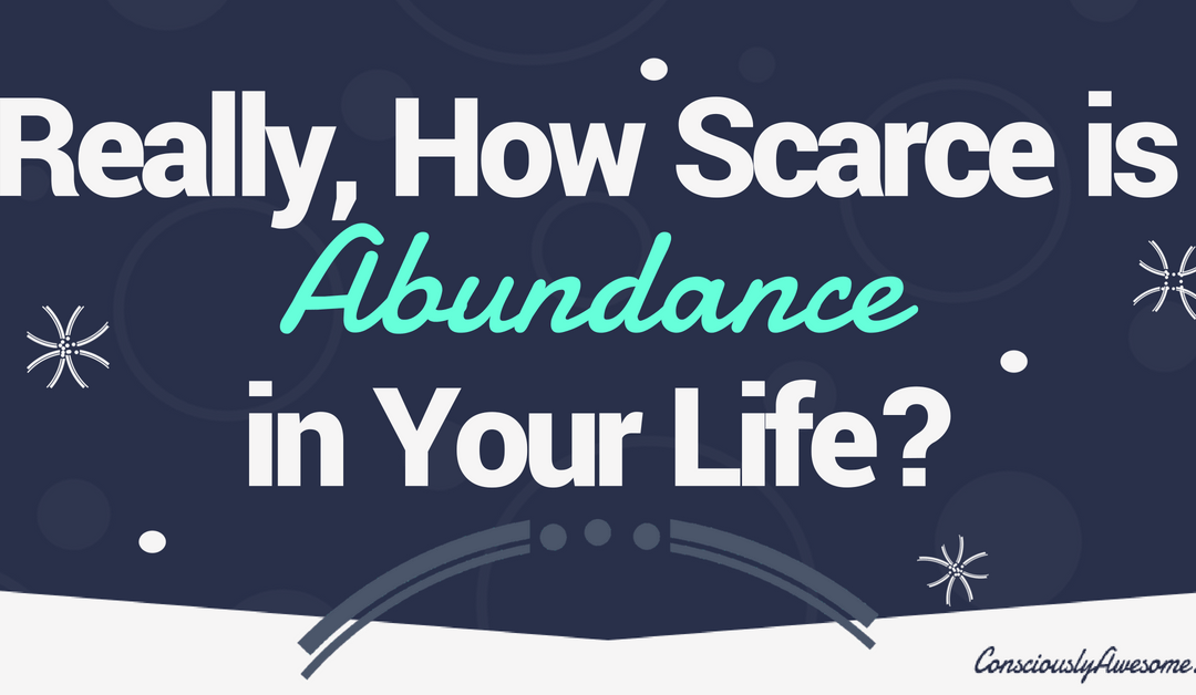Really, How Scarce is Abundance in Your Life?