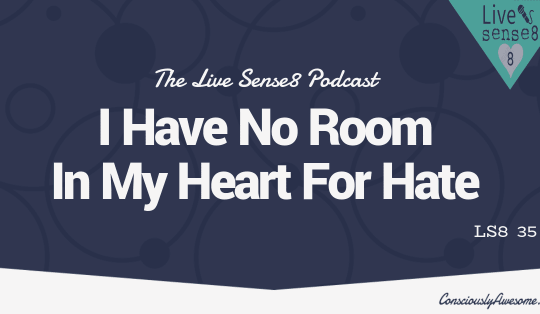 LS8 35: I Have No Room In My Heart For Hate